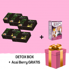 DETOX BOX - gratis ACAI BERRY