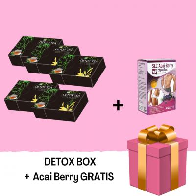 DETOX BOX - gratis ACAI BERRY