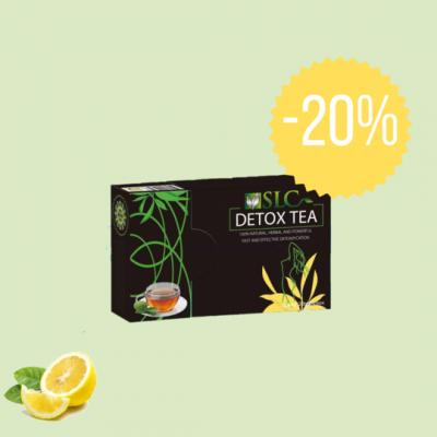 SLC Detox Tea - 20 % popust