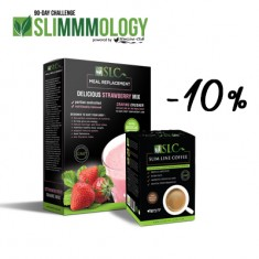 Slimmmology Coffee Strawberry Kit